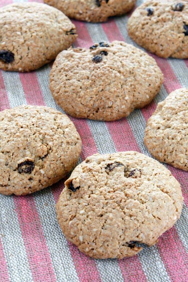cookies oatmeal raisin стоковая фотография