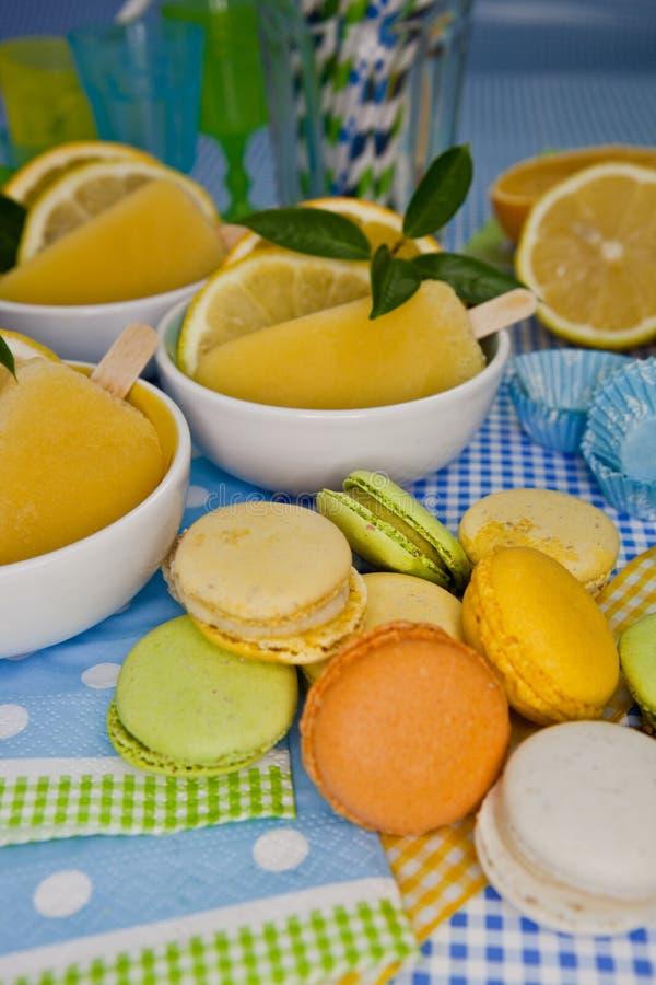 Cookies and Orange Ice cream