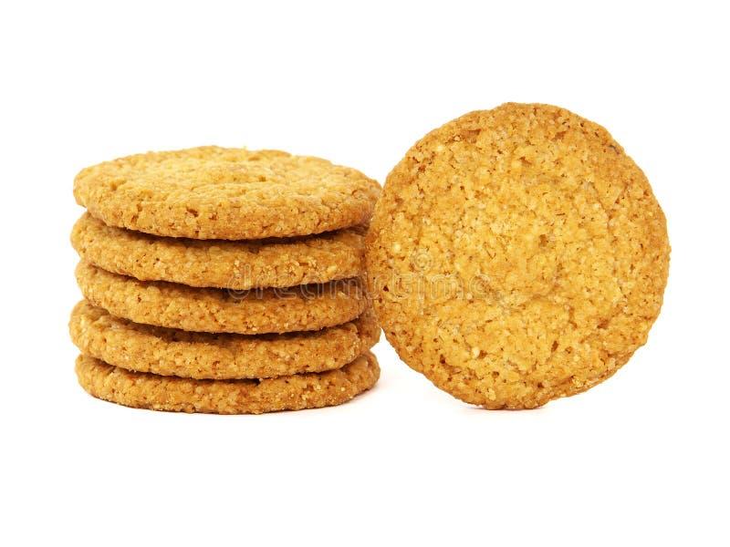 Cookies ou biscoitos da aveia fotografia de stock
