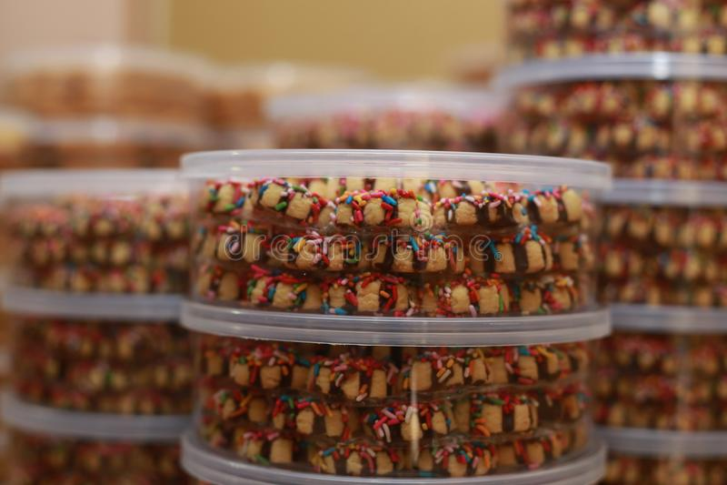 Cookies para Eid Mubarak foto de stock royalty free
