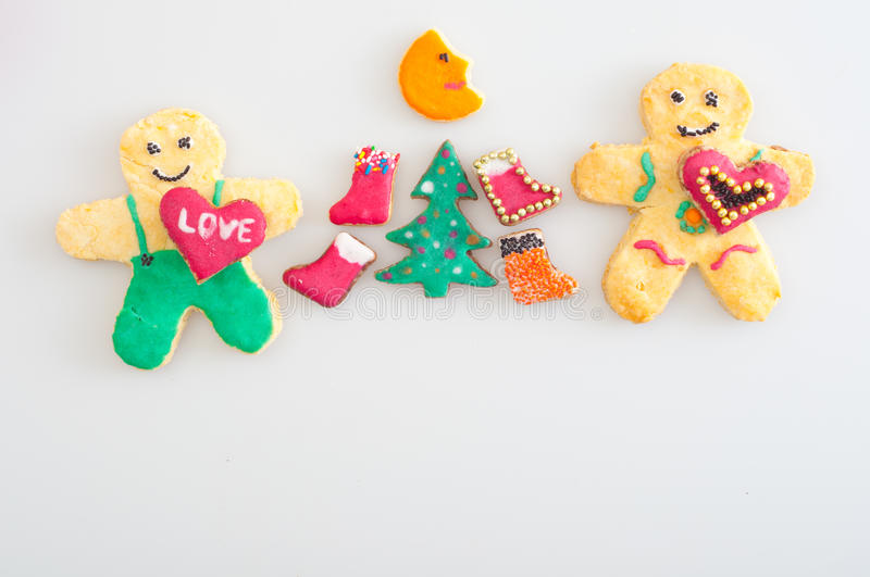 Download Cookies Representing Celebration Of Christmas Stock Image - Image: 21990937
