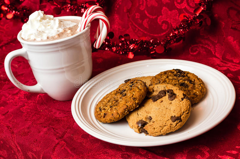 Cookies for Santa stock images