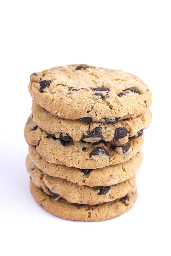Free Cookies Stack Isolated Royalty Free Stock Images - 22571029