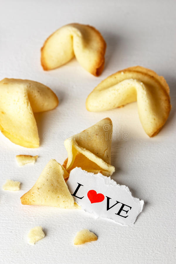 Free Cookies With Love. Royalty Free Stock Image - 83000406