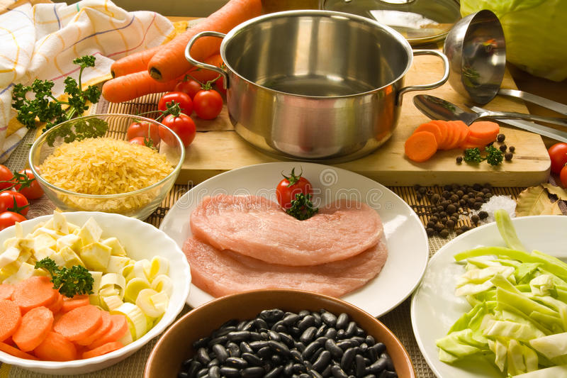 Cooking stock image