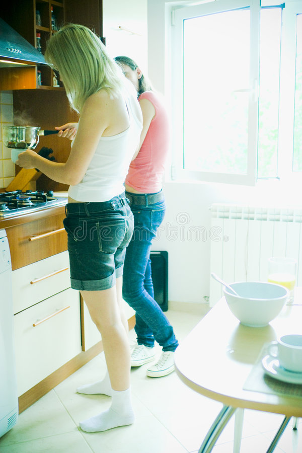 Download Cooking stock image. Image of domestic, caucasian, kitchen - 2712413