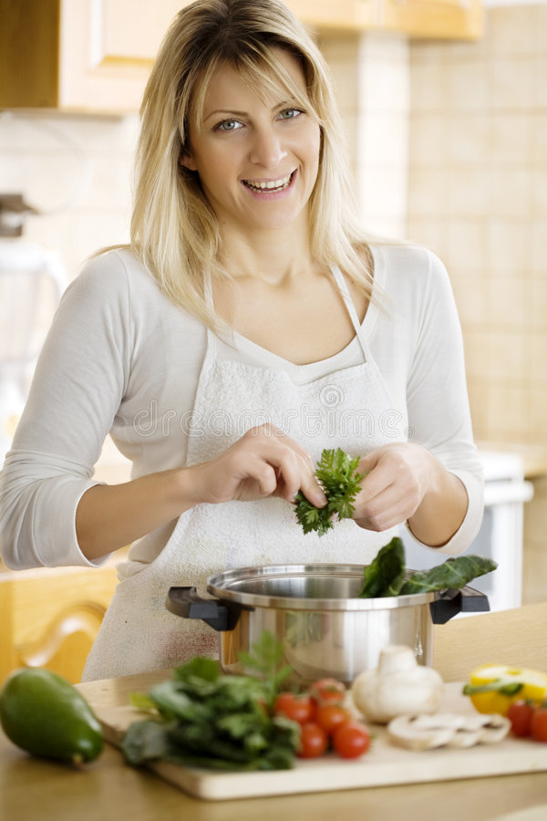 Download Cooking stock image. Image of cooking, woman, camera, person - 4392977