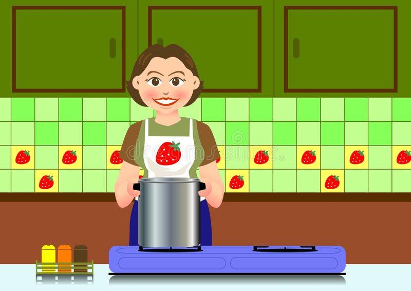 Cooking stock illustration
