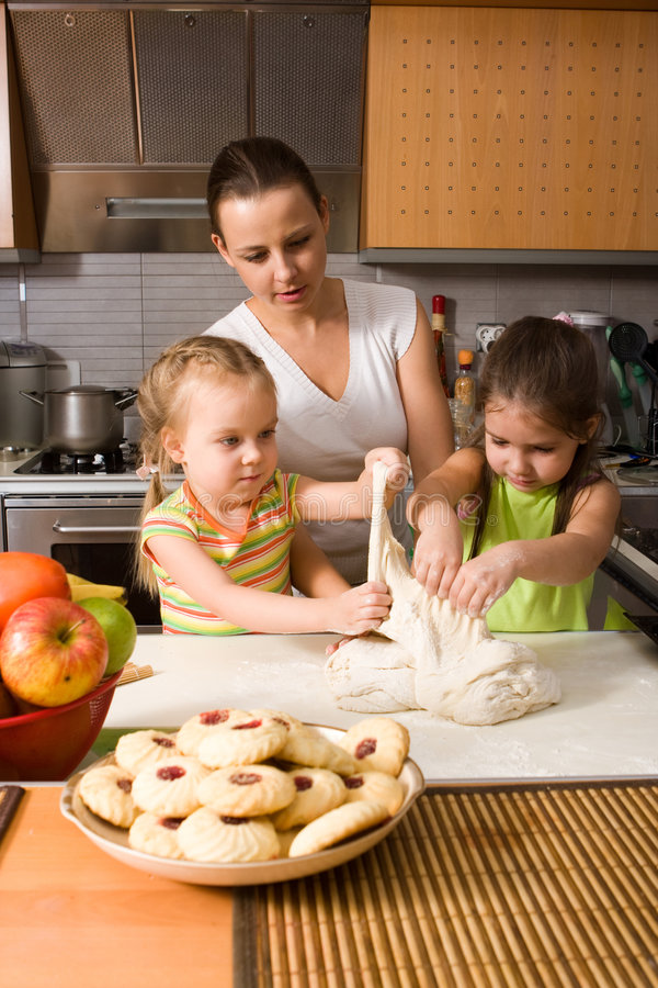 Download Cooking stock image. Image of baby, food, assistance, chef - 7802003