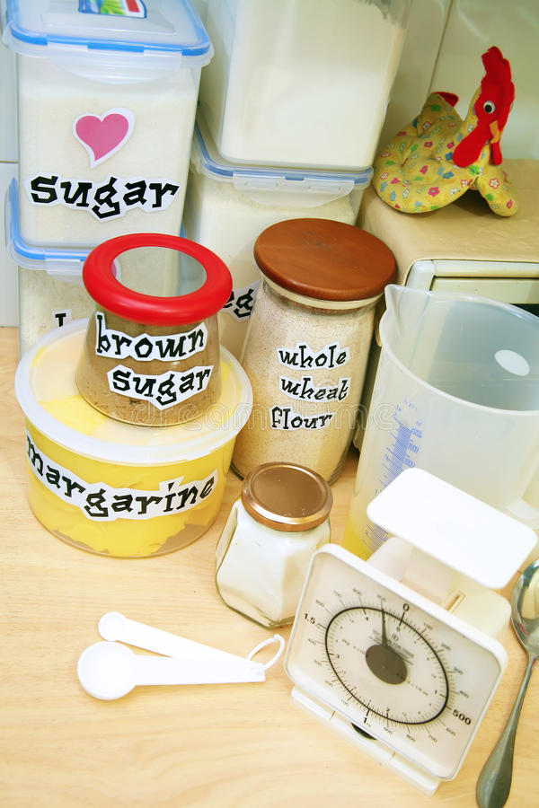 Download Cooking basic ingredients stock image. Image of margarine - 15332275