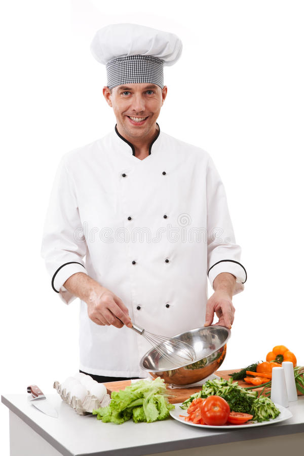 Cooking chef royalty free stock images