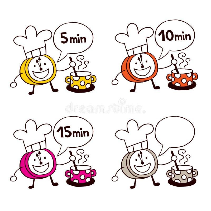 Download Cooking Clocks Set Royalty Free Stock Photo - Image: 27908295