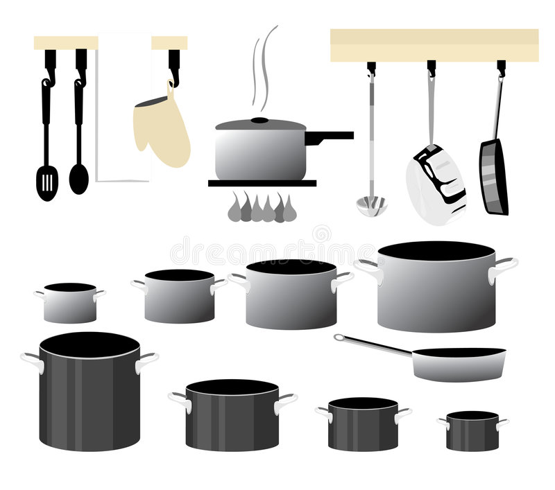 Cooking Collection royalty free illustration