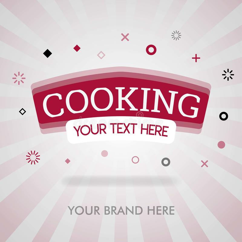 Cooking cover page. american cooking tips, chinese cooking cover page. chinese cookbook. can be for promotion, advertising, print,. Newspaper, cover, magazine stock illustration