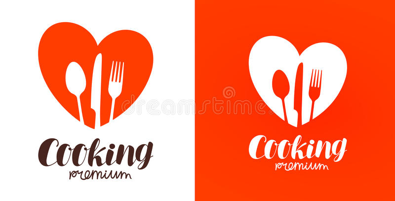 Cooking, cuisine, cookery logo. Restaurant, menu, cafe, diner icon or label. Vector illustration vector illustration