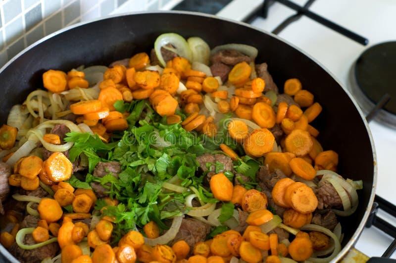 Cooking food stock photos