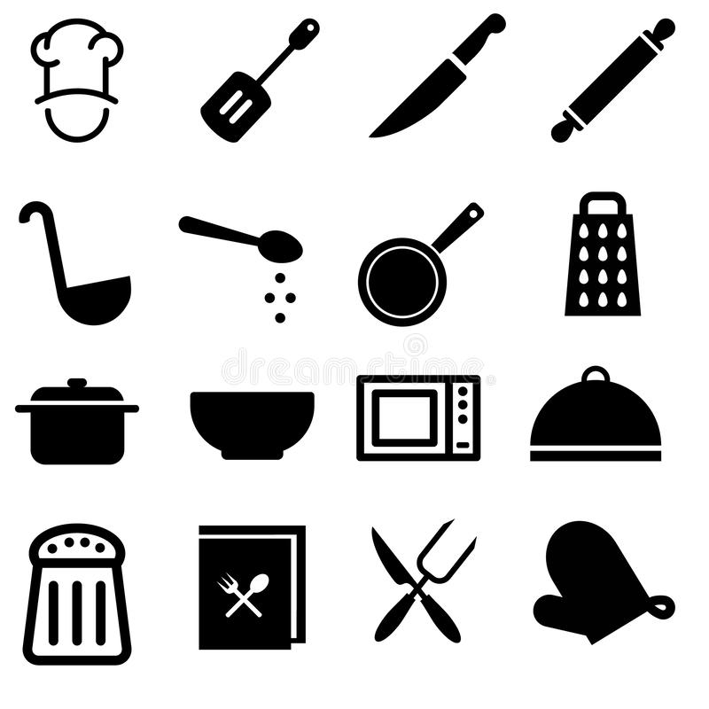 Cooking icons  set. Cooking icon. breakfast illustration symbol coollection. royalty free illustration