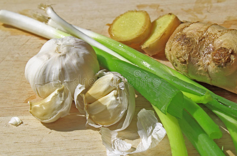 Download Cooking Ingredients stock image. Image of onion, cutting - 25889223