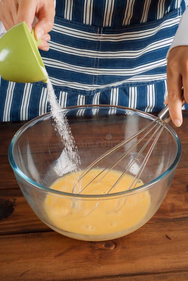 Free Cooking Making Pancake Mixture Royalty Free Stock Images - 8153729