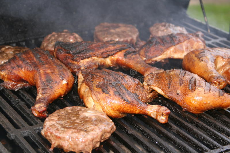 Cooking Out! royalty free stock photos