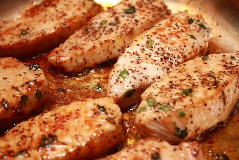 Download Cooking Pork Medallion stock image. Image of cooked, flesh - 21583211