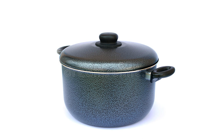 Cooking pot royalty free stock image