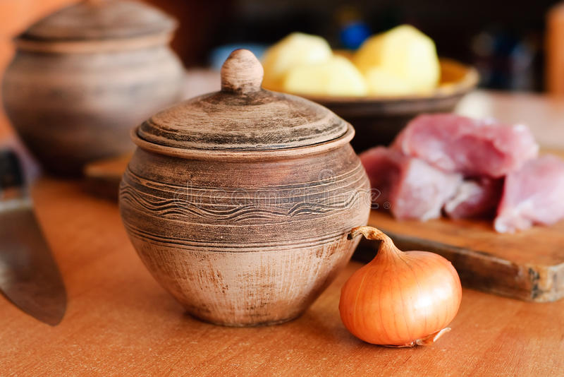Download Cooking pot stock photo. Image of meat, healthy, stew - 29887852