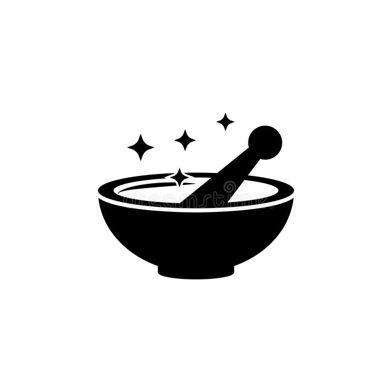 Cooking potions icon.Element of popular magic icon. Premium quality graphic design. Signs, symbols collection icon for websites, w. Eb design, on white vector illustration