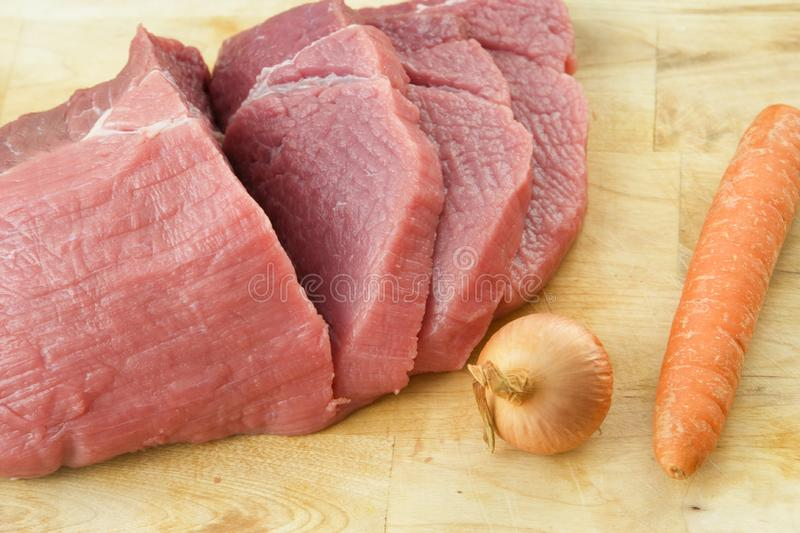 Download The cooking steak stock image. Image of meal, beef, gourmet - 8335105