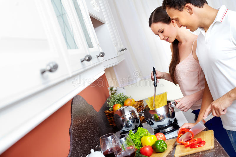 Download Cooking Together Stock Images - Image: 22926374