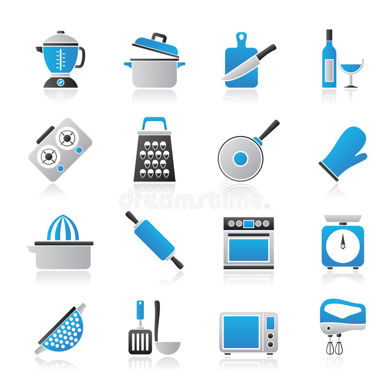 Free Cooking Tools Icons Royalty Free Stock Images - 42465899