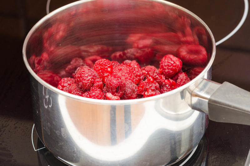 Download Raspberries stock image. Image of stow, ingredients, home - 33824631