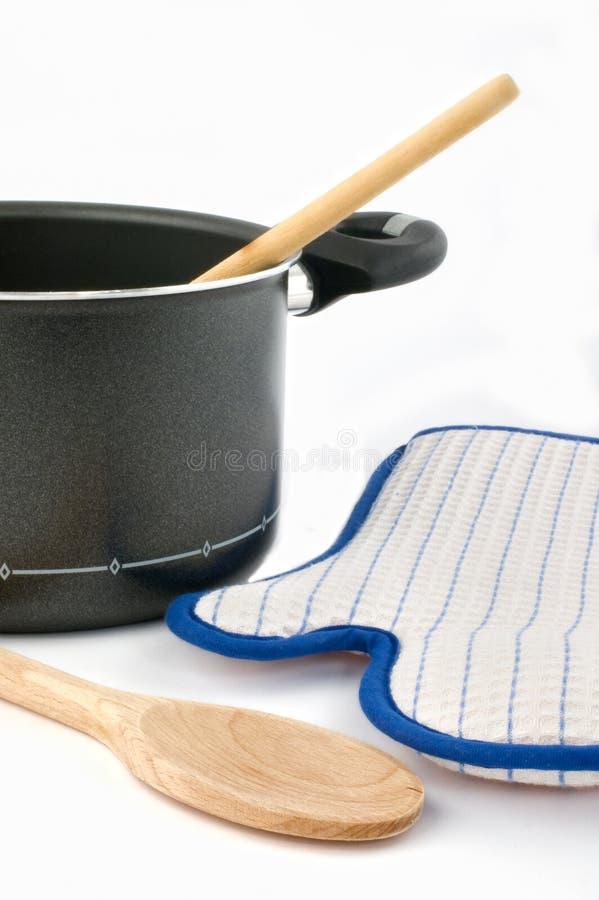 Cooking utensils stock photos