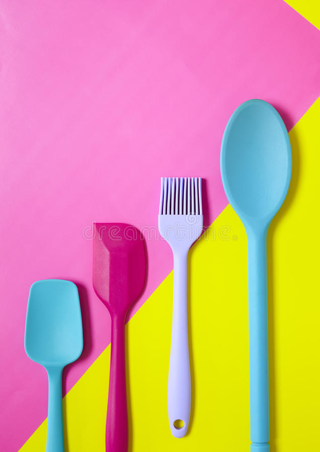 Cooking utensils stock image