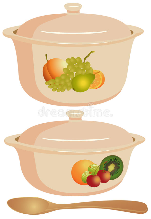 Cooking ware vector illustration
