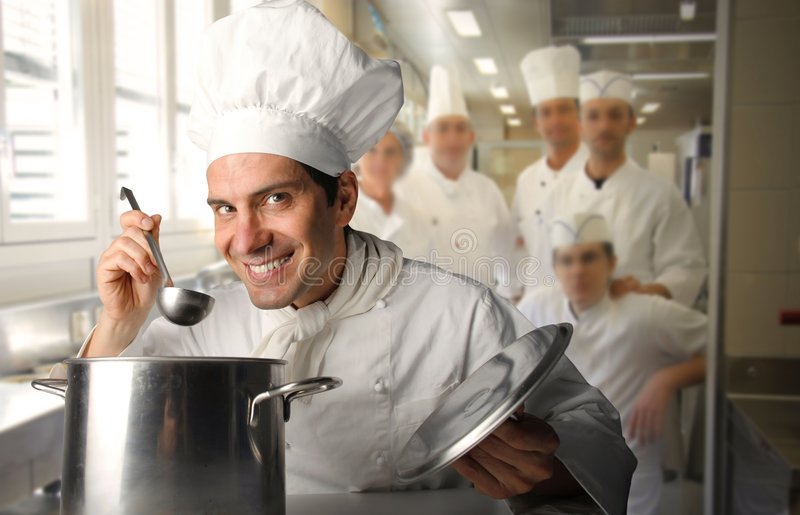 Cooks royalty free stock image