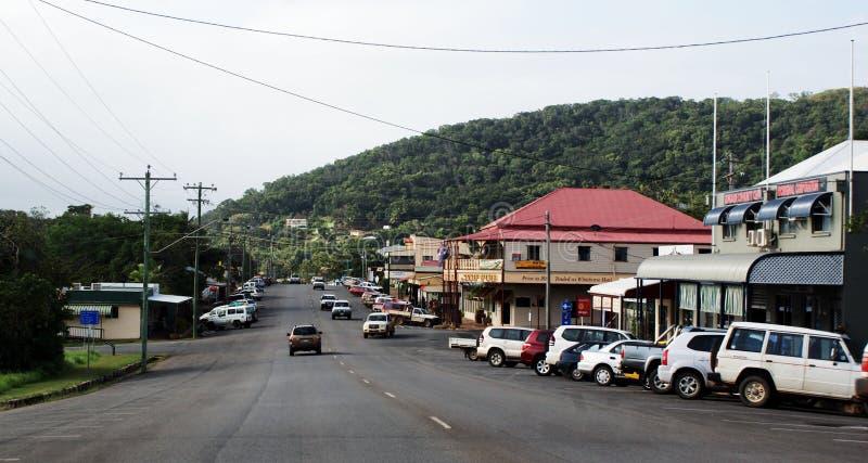 Cooktown Australië in Ver Noord-Queensland royalty-vrije stock foto's