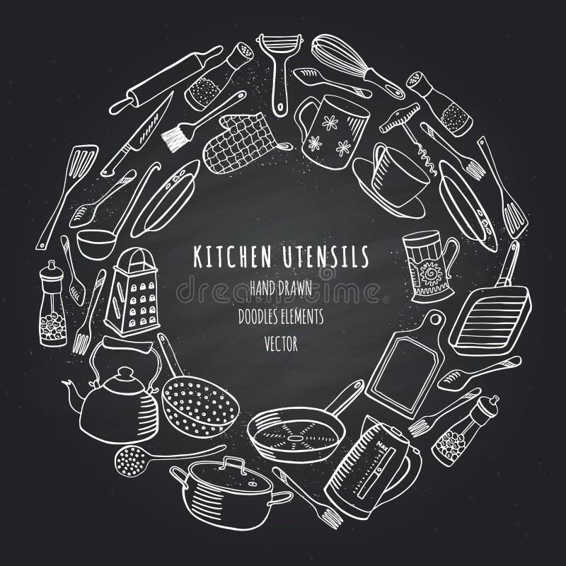 Cookware, ejemplo del vector libre illustration