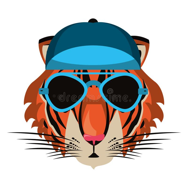 Cool Tiger Vector Stock Illustrations 767 Cool Tiger