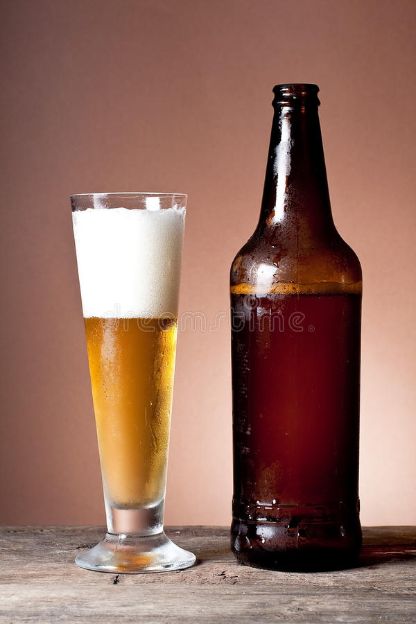Cool beer royalty free stock photos