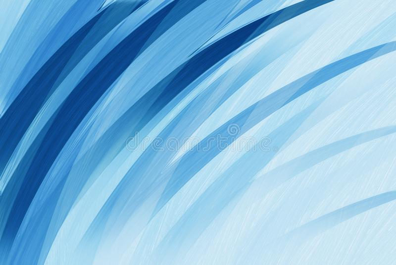 Straight Line Borders Clip Art : Thick stripes or curving lines of dark and light blue in corner