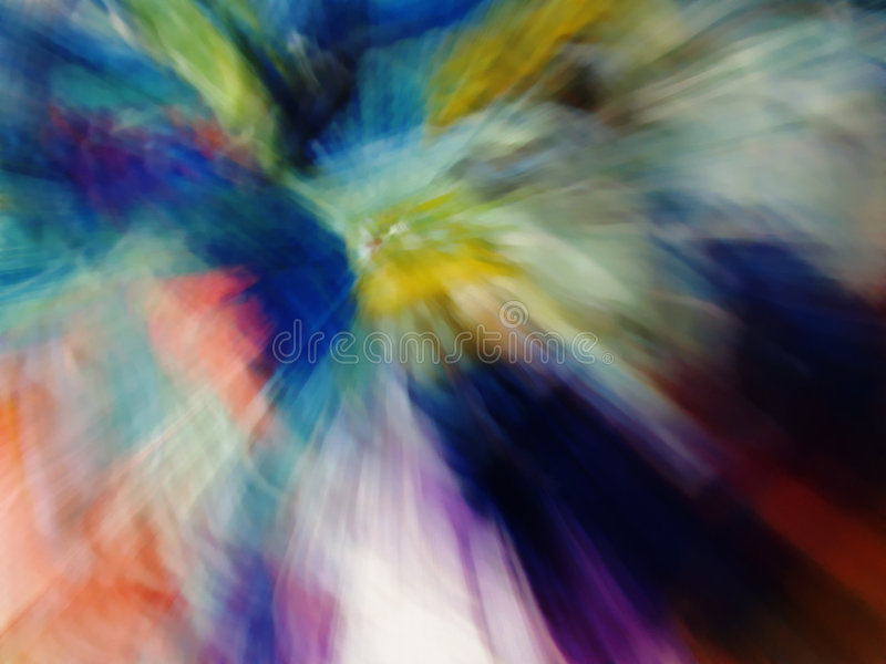 Cool blur abstraction