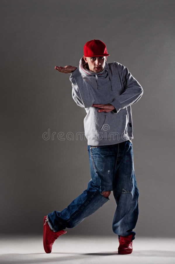 Cool Breakdancer Royalty Free Stock Image