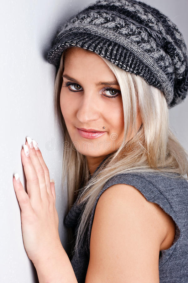 Download Cool Cap stock photo. Image of beautiful, cute, cold - 23820046