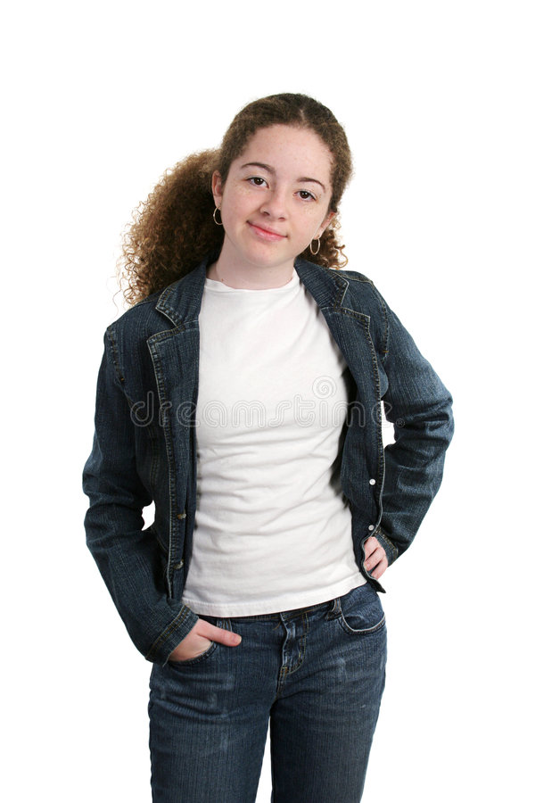 Cool Casual Teen stock photography