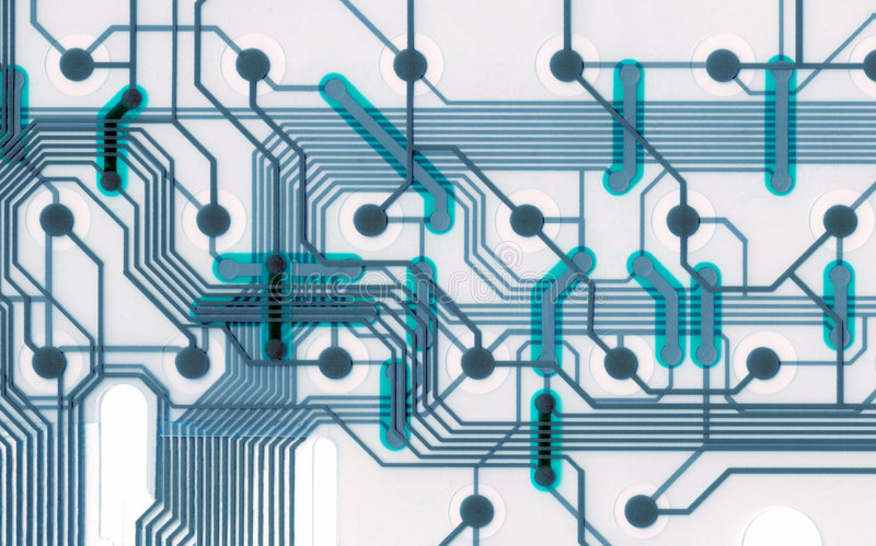 Cool Circuit Board Connections Stock Photo - Image of connect, data ...