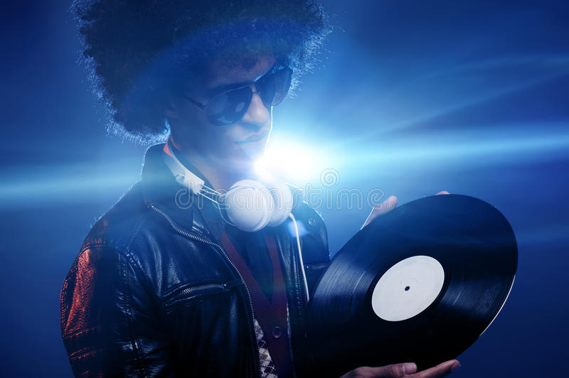 Cool Club Dj Royalty Free Stock Images