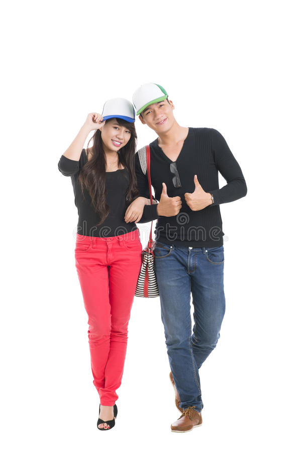 Download Cool Couple Royalty Free Stock Image - Image: 27686926