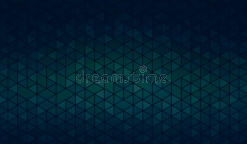 Dark Cyan Mosaic Background Creative Minimal Abstract