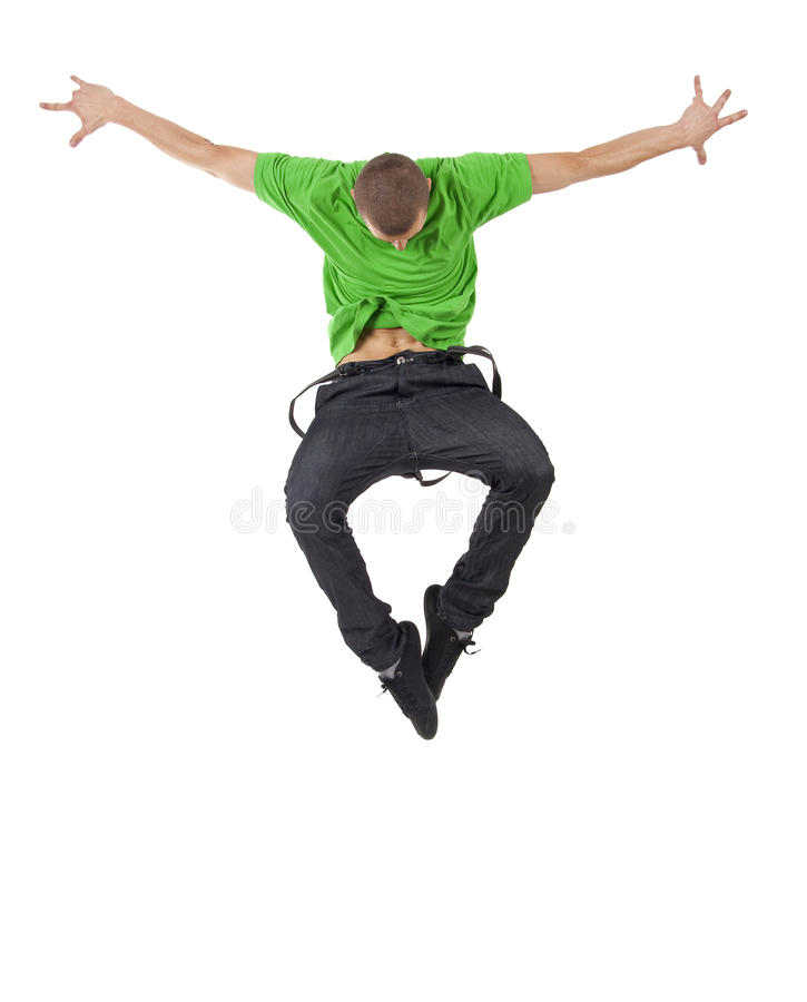 Free Cool Dancer Jumps Royalty Free Stock Photo - 14448455
